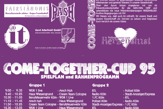 COME-TOGETHER-CUP 1995
