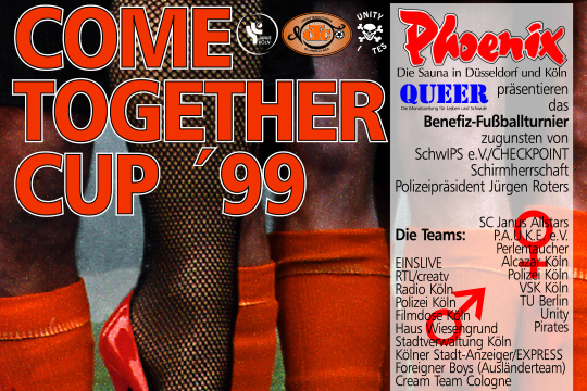 COME-TOGETHER-CUP 1999